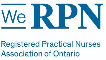 Registered Practical Nurses Association of Ontario (WeRPN) logo